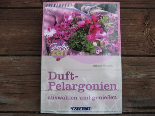 """""""Duft-Pelargonien Buch"""" (80 Seiten A5)"""