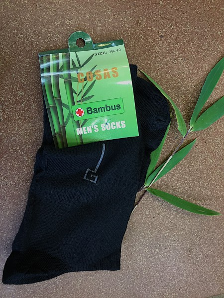 Bambussocken für Männer (Grösse 39-42)