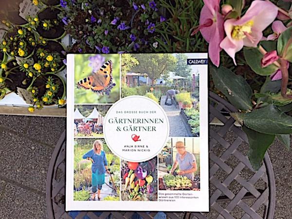 """""""Das grosse Buch der Gärtnerinnen & Gärtner"""" von Anja Birne u. Marion Nickig"""