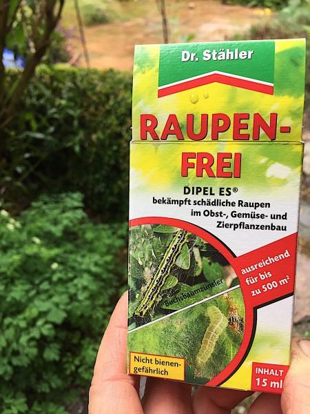 DIPEL ES®, Raupen Frei, für Buchsbaumzünsler